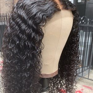 Kinky Curly 100 percent Human hair Wig